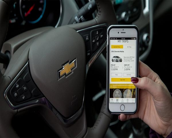 Ni taxis, ni Uber: GM lanzó un servicio de arriendo de autos