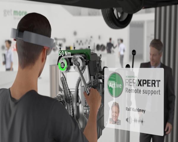 Las aplicaciones de realidad aumentada en el taller del futuro