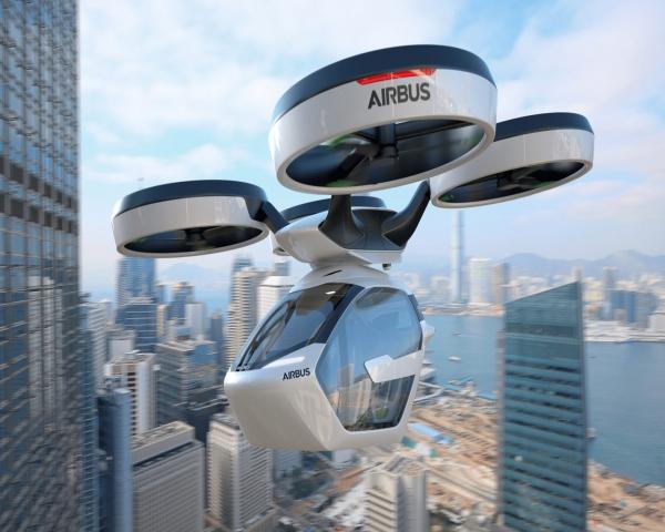 El taxi del futuro: ¿volador y autónomo?