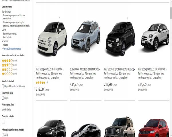 06d8ae6ff Amazon entra en el negocio del renting de vehículos de la mano de ALD .