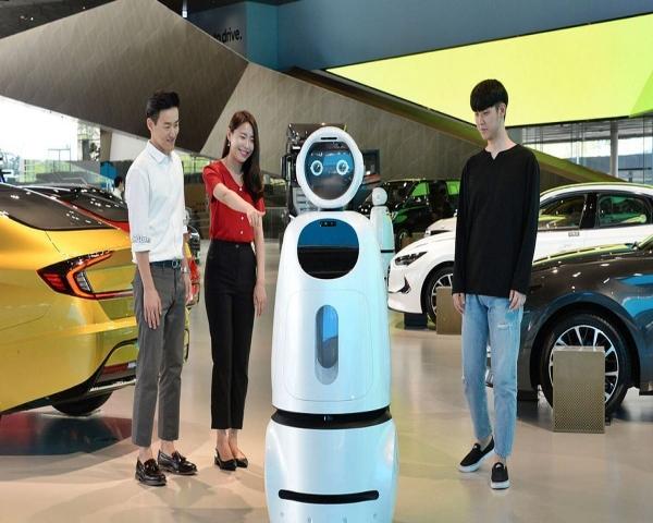 Hyundai se asocia con LG para introducir robots
