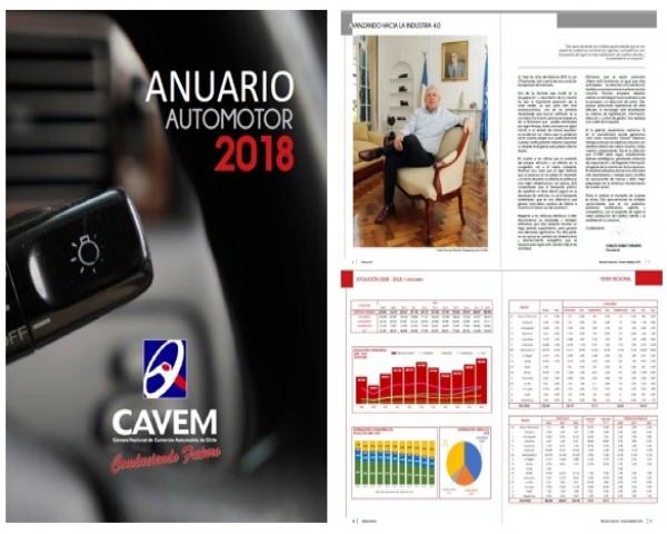 Anuario EstadÍstico Automotor 2018