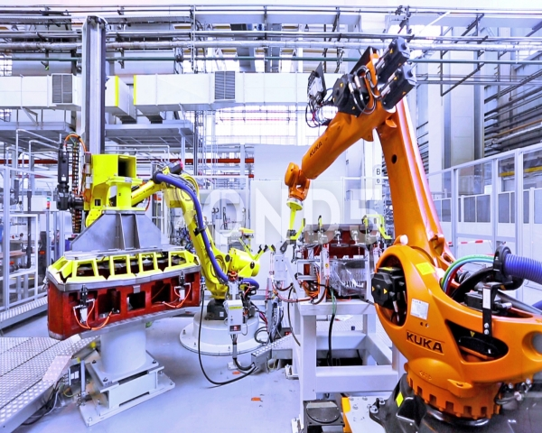 La industria del autom�vil acelera su inversi�n en f�bricas inteligentes