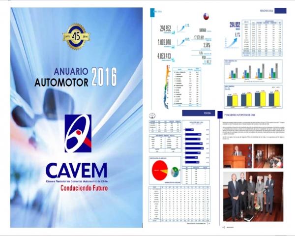 Anuario EstadÍstico Automotor 2016