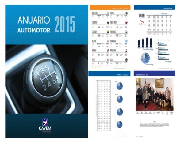 Anuario EstadÍstico Automotor 2015